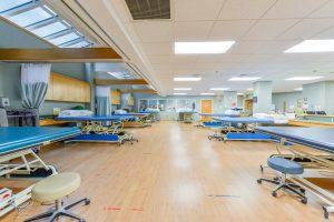Expansive Passport Rehab Gymnasium